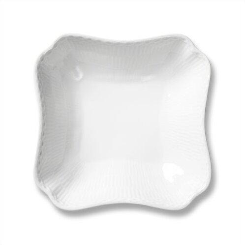 White Half Lace Platter by Royal Copenhagen
