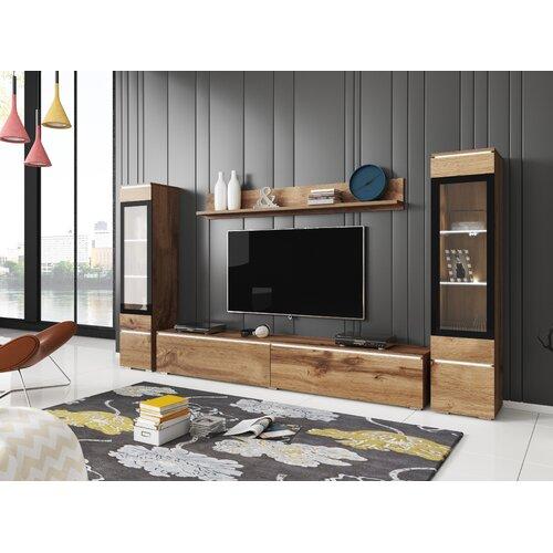 Wohnwand Luella für TVs bis zu 77 ModernMoments | Wohnzimmer > Schränke | ModernMoments