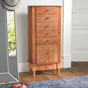 Turin Free Standing Jewelry Armoire by Red Barrel Studio
