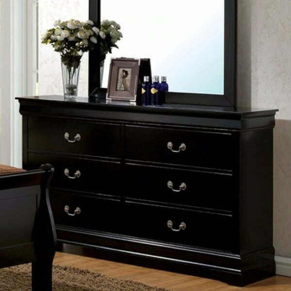 Rylee 6 Double dresser by Darby Home Co