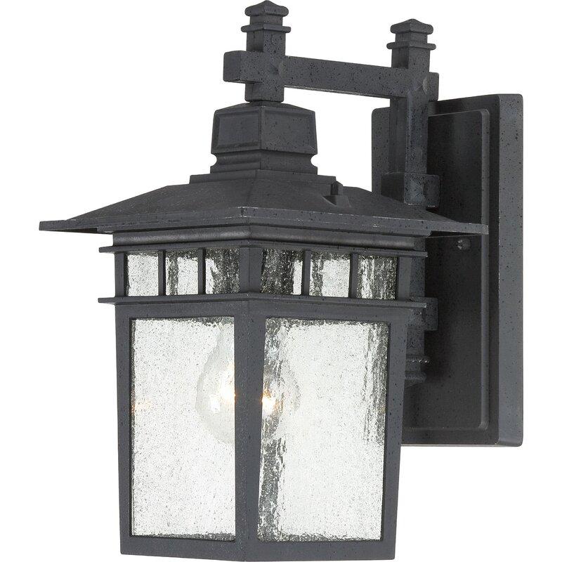 Valeri 1-Light Outdoor Wall Lantern & Reviews | Joss & Main