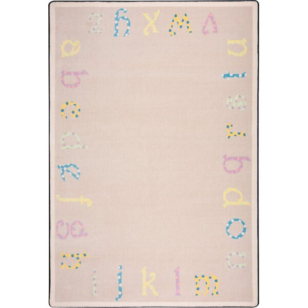 Hand-Tufled Beige Kids Rug by The Conestoga Trading Co.