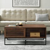 Nena Coffee Table with Storage by Union Rustic