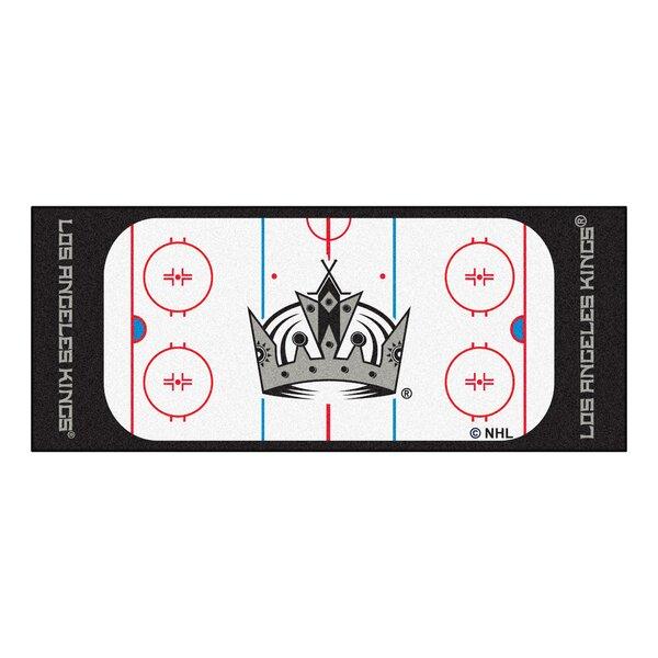 NHL - Los Angeles Kings Rink Runner Doormat by FANMATS