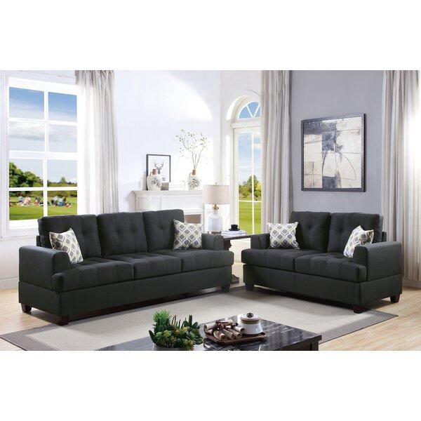 Eastway 2 Piece Living Room Set by Latitude Run
