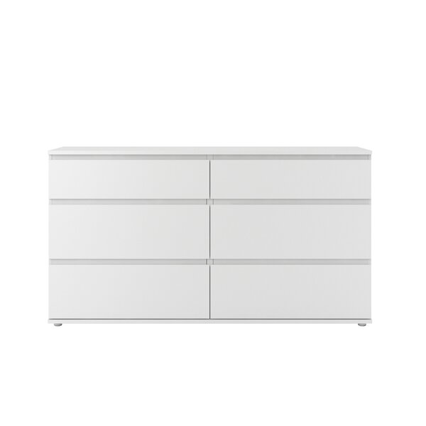 Karev 6 Drawer Double Dresser by Zipcode Design