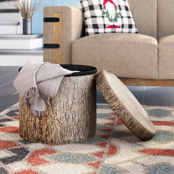 Ciaran Tufted Storage Ottoman by Millwood Pines