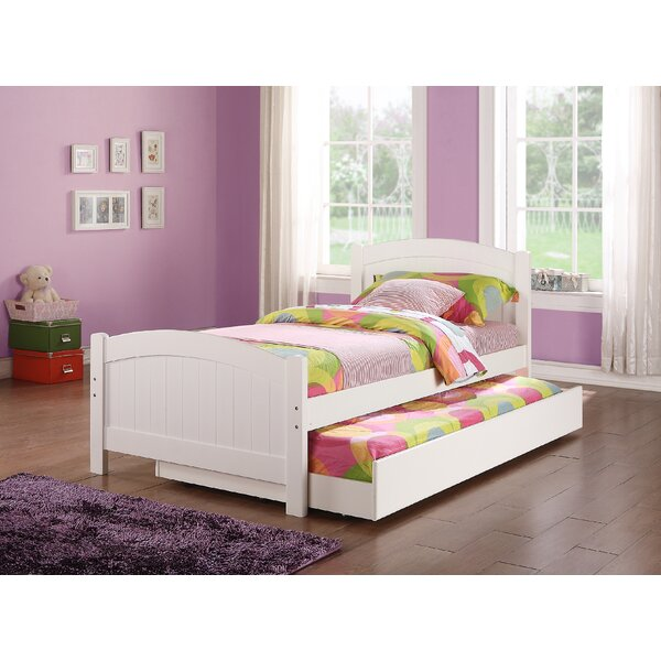 Dalley Twin Mates Bed with Trundle by Harriet Bee