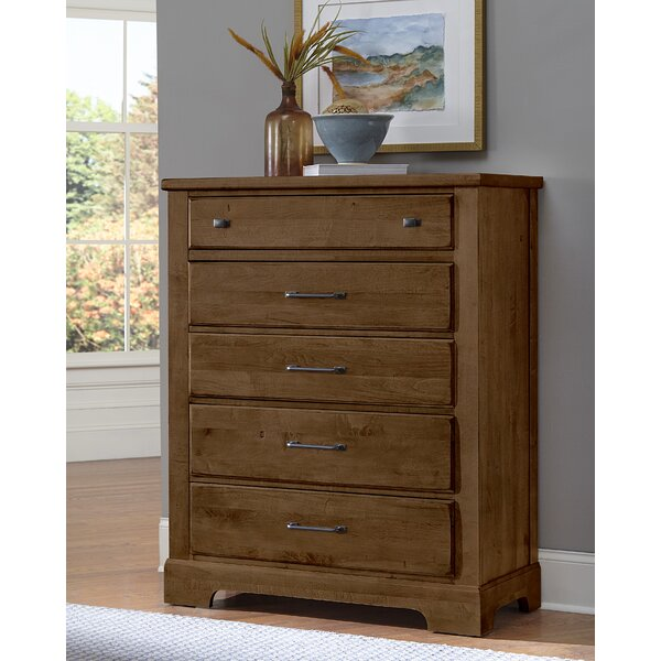 Maximilian 5 Drawer Chest by Canora Grey