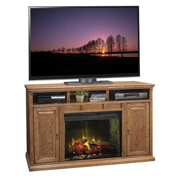 Scottsdale 62 TV Stand with Fireplace by Legends Furniture