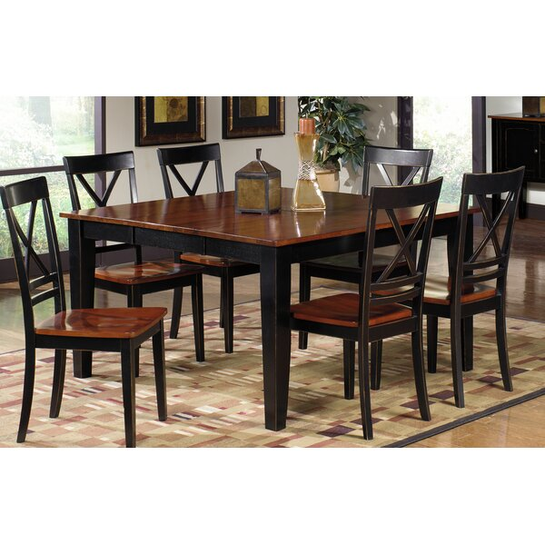 Picardy Solid Wood Dining Table by August Grove