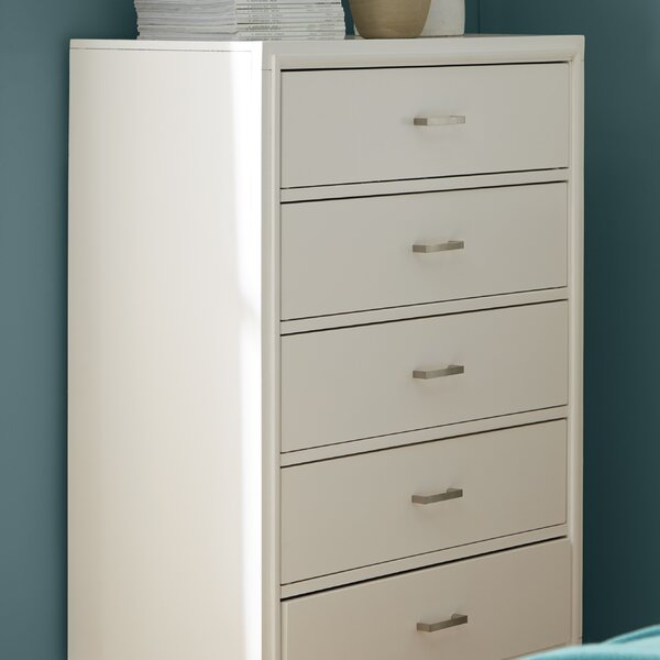 Brigham 5 Drawer Chest by Trule Teen Trule Teen