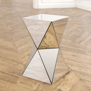 Shop For Conrad Mirrored Accent End Table By Willa Arlo Interiors