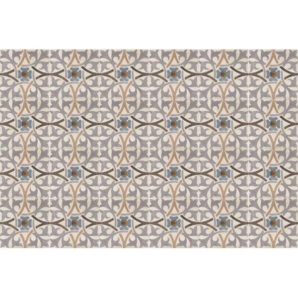 Design Evo 8 x 8 Porcelain Field Tile in Gray/Beige/Black by Travis Tile Sales