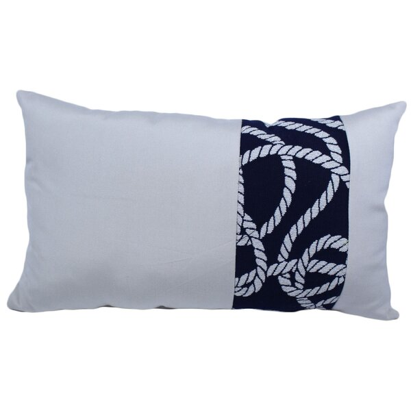 Worthey Outdoor Lumbar Pillow by Breakwater Bay