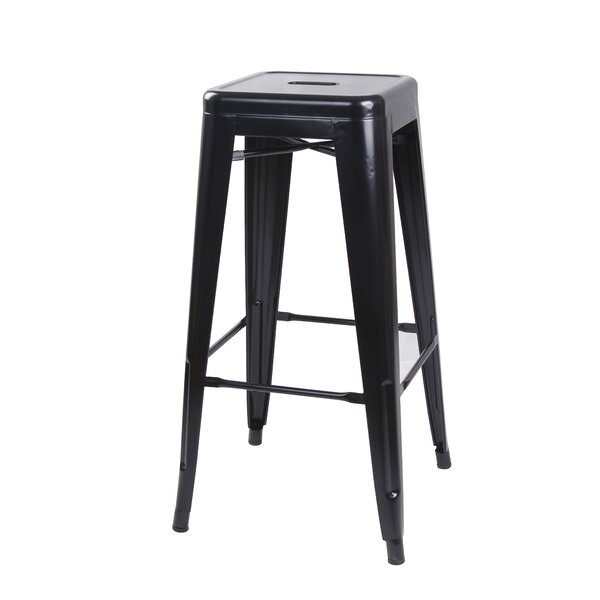 Armina 30 Bar Stool (Set of 4) by 17 Stories