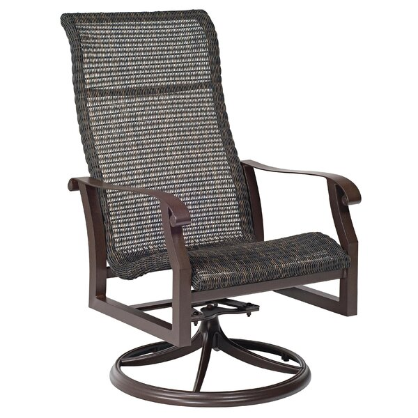 Cortland Woven High Back Swivel Rocking Chair (Set Of 2) By Woodard by Woodard 2020 Coupon