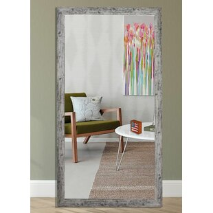 August Grove Weathered Farmhouse Accent Mirror