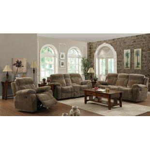 Victor Reclining Configurable Living Room Set Wildon Home ? #2