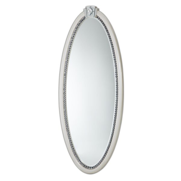 Overture Oval Wall Mirror by Michael Amini