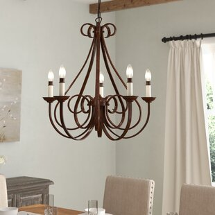 Affordable Price Cayman 5-Light Chandelier By Alcott Hill