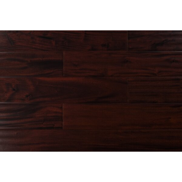 4.75 Solid Mahogany Hardwood Flooring in Fruitwood by Albero Valley