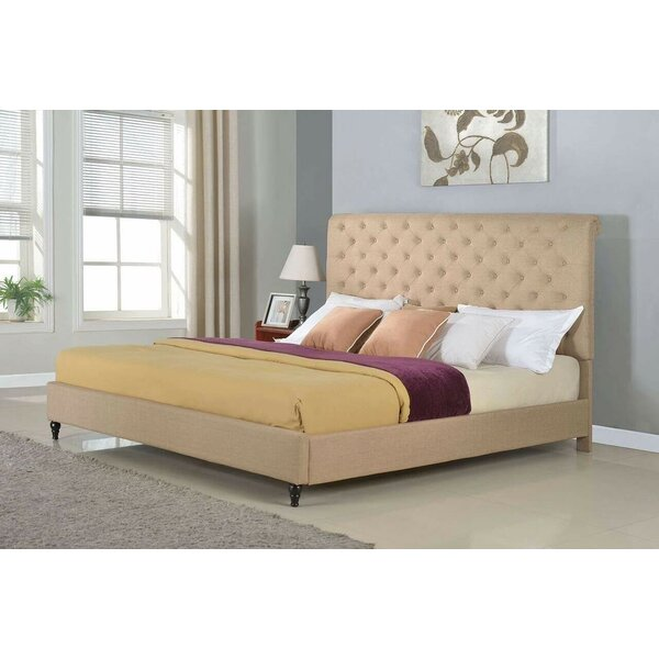 Galina Upholstered Platform Bed by Charlton Home