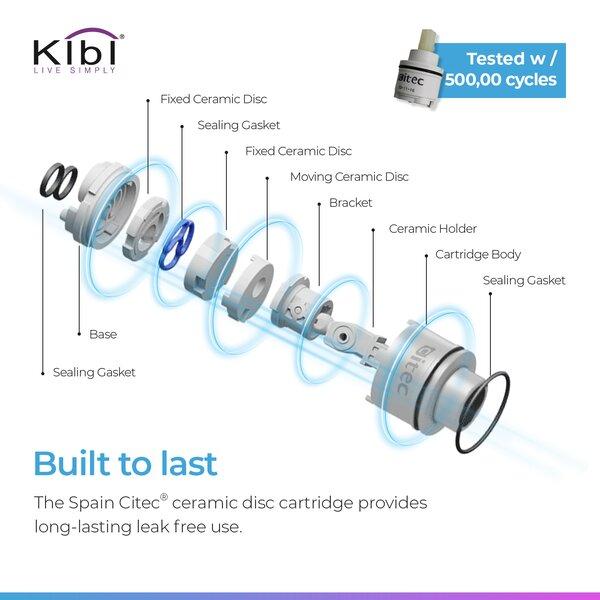 Lowa Bar Faucet With Soap Dispenser By KIBI