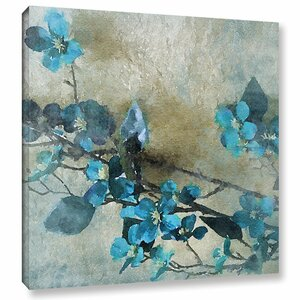 18 Blue Bunch Painting Print on Wrapped Canvas by Ophelia & Co.