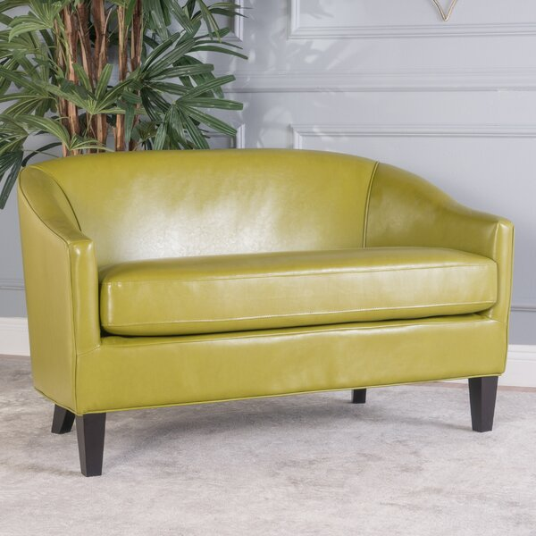 Luxury Brands Elmore Loveseat by Wrought Studio by Wrought Studio