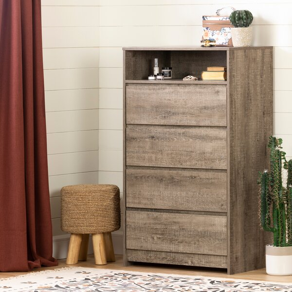 Sazena 4 Drawer Chest By South Shore