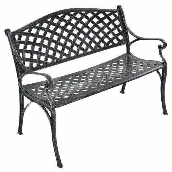 Binne Aluminum Garden Bench by Fleur De Lis Living