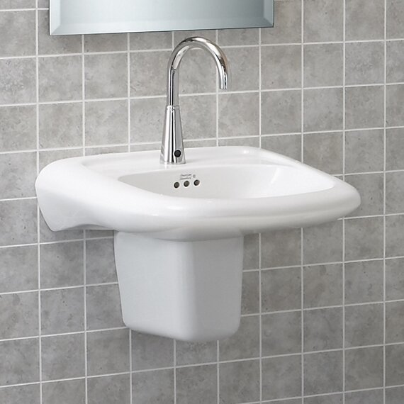 Murro 22.38 x 10.75 Wall Mounted Handwash Station by American Standard