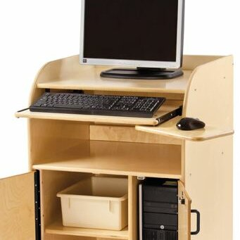 Keyboard Tray Kit for Mobile Technology Stand by Jonti-Craft