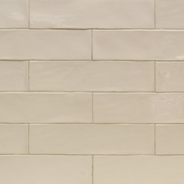 Catalina 3 x 12 Porcelain Subway Tile in Vanilla by Splashback Tile