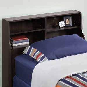 Francine Twin Bookcase Headboard by Latitude Run