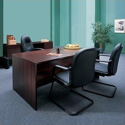 Genoa 2-Piece Desk Office Suite by Global Total Office