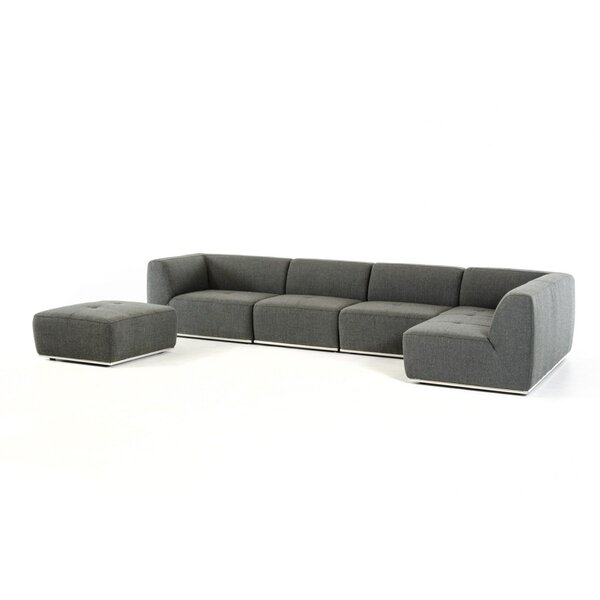 Online Shopping Discount Alsatia Modular Sectional with Ottoman by Wade Logan by Wade Logan