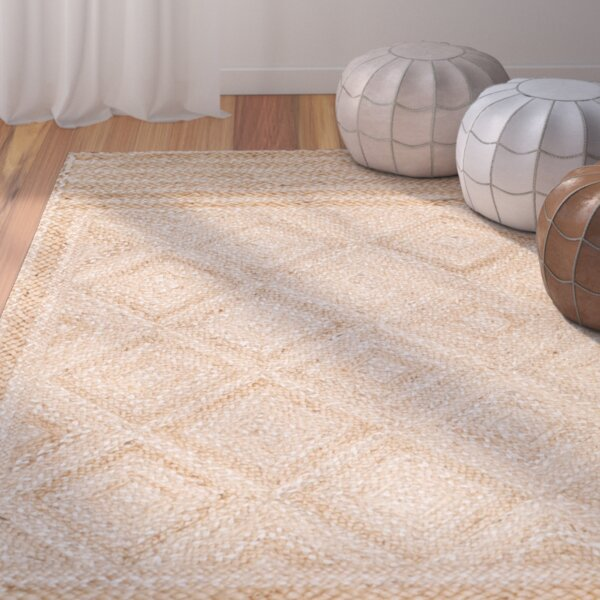 Leonard Hand-Woven Natural Area Rug by Mistana