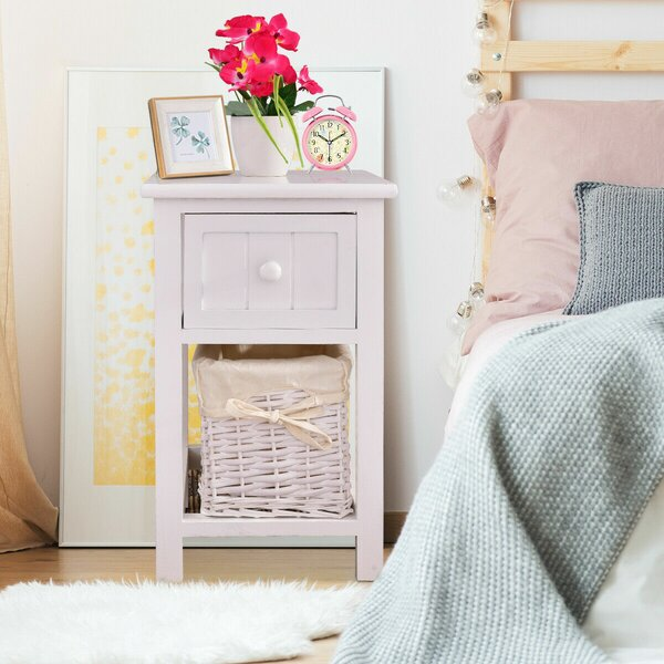 Newlin End Table With Storage By Charlton Home