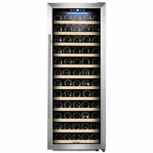 80 Bottle Single Zone Freestanding Wine Cooler