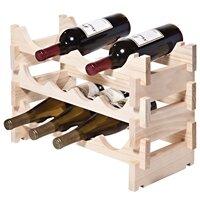 12 Bottle Floor Wine Bottle Rack by Symple Stuff