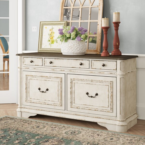 Salinas Credenza Desk by Birch Lane™