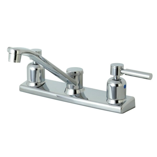Concord Centerset Double Handle Kitchen Faucet by Kingston Brass