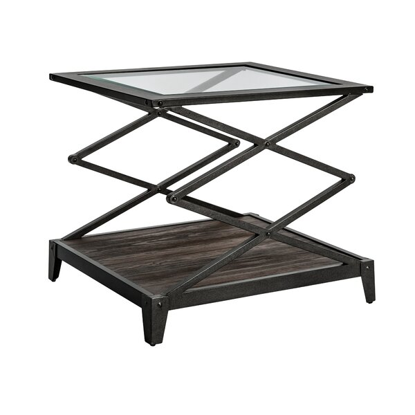 Adelle End Table by 17 Stories