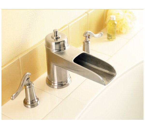 Ashfield Double Handle Deck Mounted Roman Tub Faucet Trim By Pfister