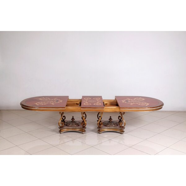 Ana Solid Wood Dining Table by Astoria Grand