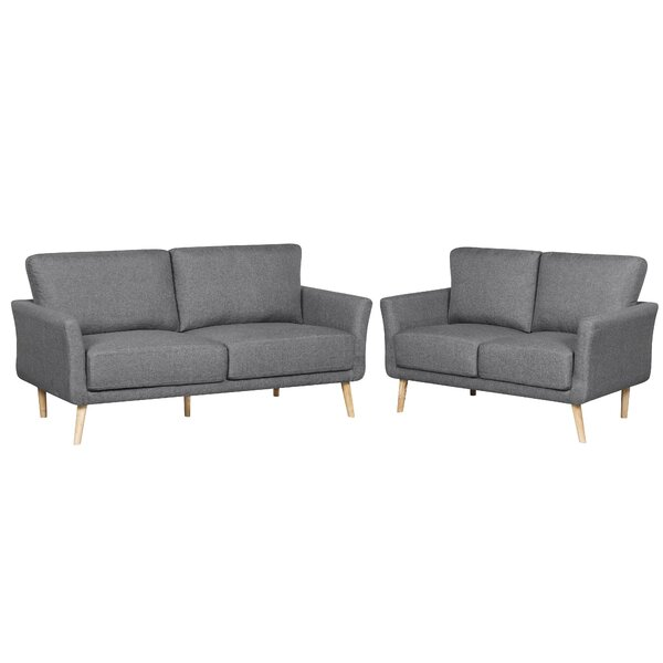 Joanne 2 Piece Living Room Set by Ebern Designs