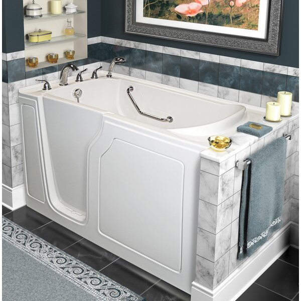 Dignity 48 x 28 Whirlpool and Air Jetted Walk-In Bathtub by A+ Walk-In Tubs