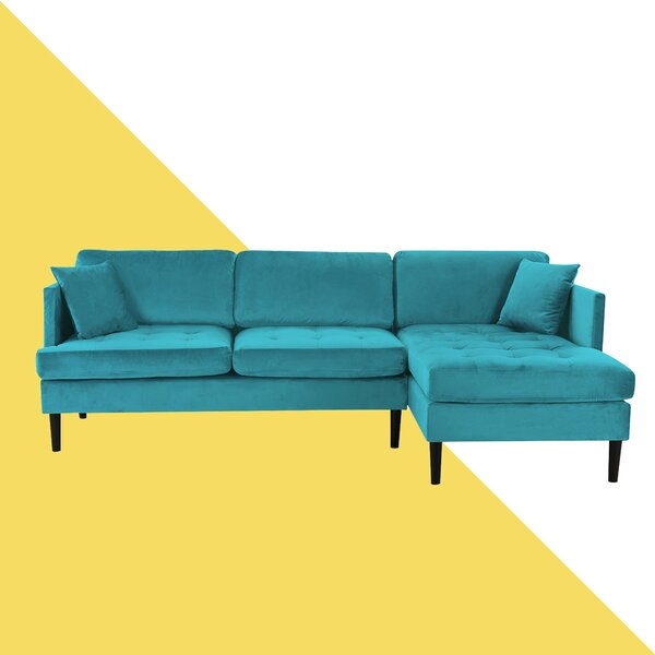 Weekend Choice Derosier Right Hand Facing Sectional by Hashtag Home by Hashtag Home
